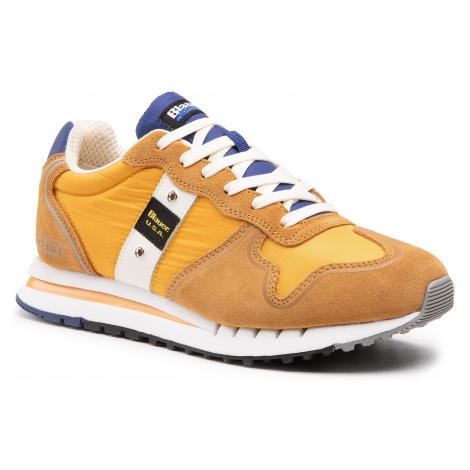 Sneakersy BLAUER - S1QUARTZ01/MES Ochre