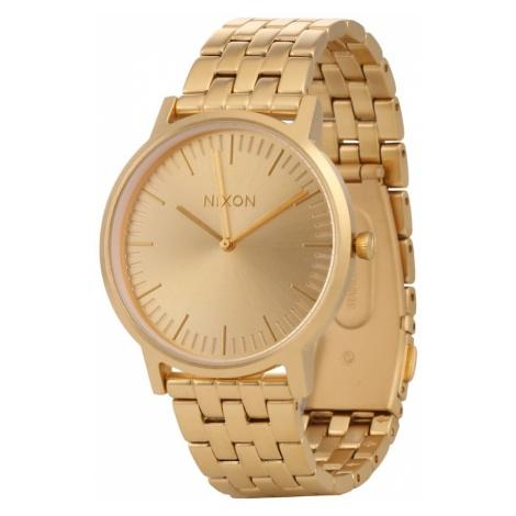 Nixon Zegarek analogowy 'Porter' złoty