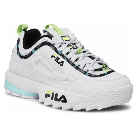 Sneakersy FILA - Disruptor A Wmn 1011239.94Z White/Blue Tint