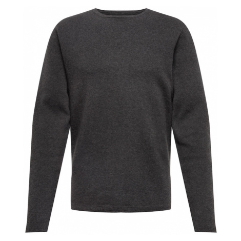 Casual Friday Sweter antracytowy Casual Friday by Blend