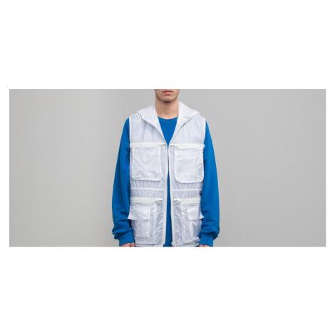 "FTSHP + LAFORMELA ""No Season"" Zip Pockets Vest White"