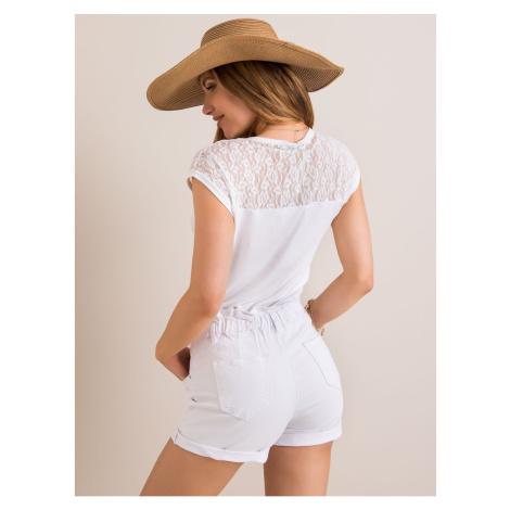 RUE PARIS Biały t-shirt