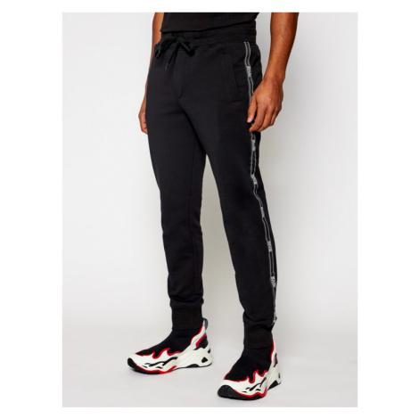 Versace Jeans Couture Spodnie dresowe A2GWA1F3 Czarny Regular Fit