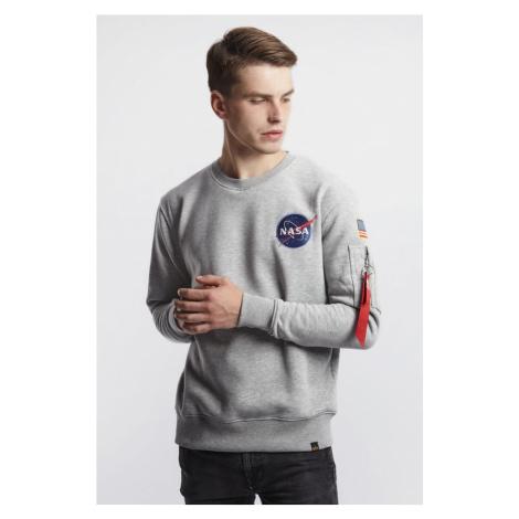 Bluza Alpha Industries Space Shuttle Sweater 17 Grey Heather
