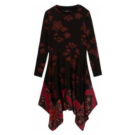 Desigual Sukienka 'CHICAGO' czerwony / czerwone wino