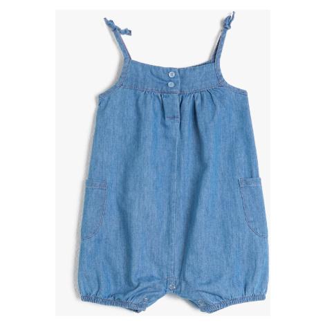 Koton Blue Baby Girl Jumpsuit