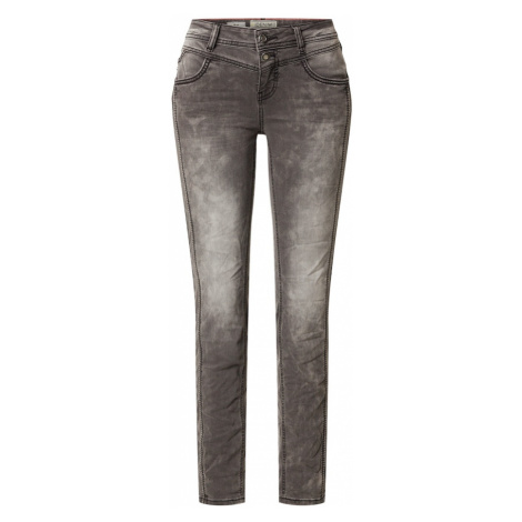 STREET ONE Jeansy 'Jane' szary denim