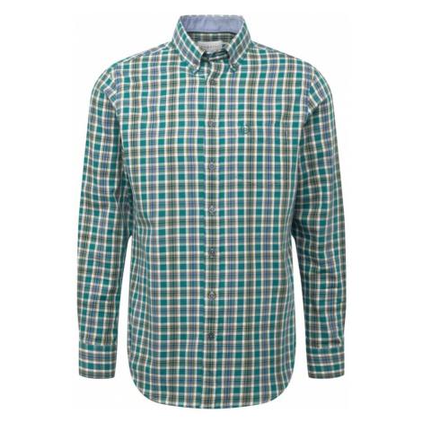 Bugatti Koszula zielony / niebieski / miodowy