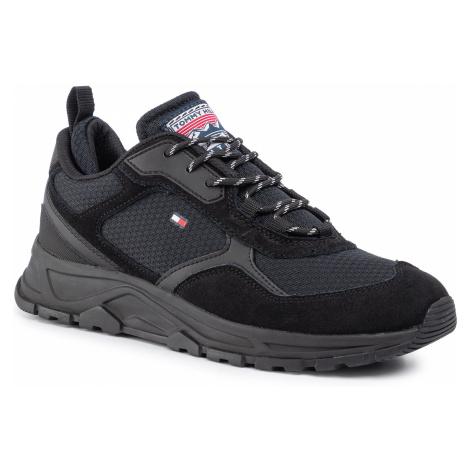 Sneakersy TOMMY HILFIGER - Fashion Mix Sneaker FM0FM02582 Black BLK