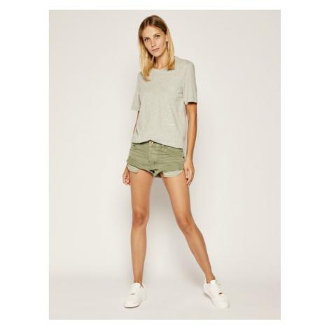 Calvin Klein Underwear Komplet 2 t-shirtów Statement 1981 000QS6198E Szary Regular Fit