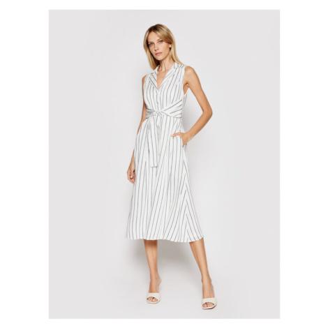 DKNY Sukienka koszulowa DD1B3166 Biały Regular Fit