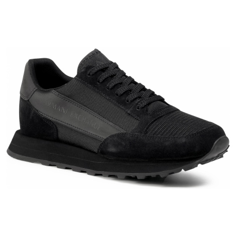 Sneakersy ARMANI EXCHANGE - XUX083 XV263 K001 Black