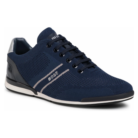 Sneakersy BOSS - Saturn 50432830 10227355 01 Dark Blue 401 Hugo Boss