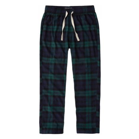 Abercrombie & Fitch Spodnie od piżamy granatowy / zielony