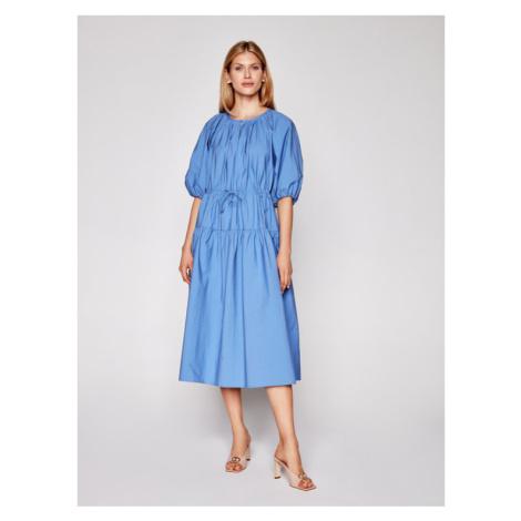 Weekend Max Mara Sukienka codzienna Kuban 52211111 Niebieski Regular Fit