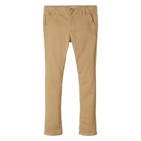 NAME IT Spodnie jasnobrązowy