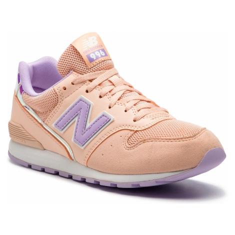 Sneakersy NEW BALANCE - YC996M2 Pomarańczowy