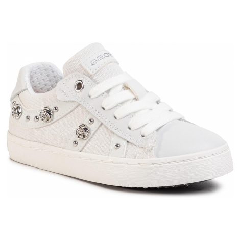 Sneakersy GEOX - J Kilwi G.A J02D5A 01085 C1000 M White