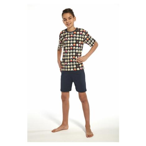 Piżama chłopięca 335/77 Young emoticon2 Cornette