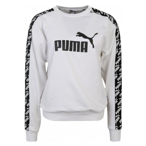 PUMA Bluzka sportowa 'Amplified' biały / czarny