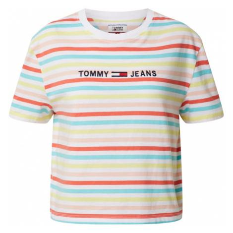 Tommy Jeans Koszulka 'Summer' pomarańczowy / neonowo-żółty Tommy Hilfiger