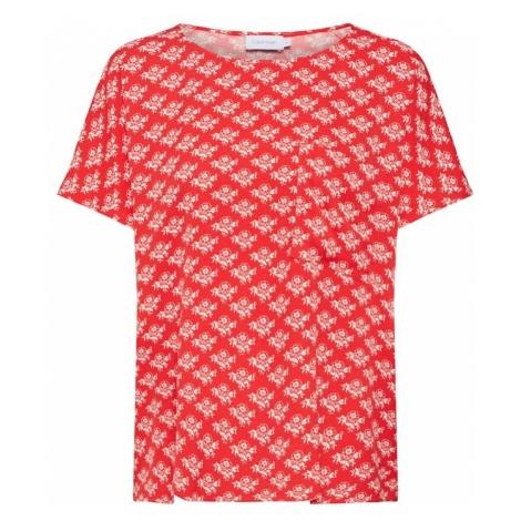Calvin Klein Koszulka 'PRT RAGLAN TOP SS' czerwony