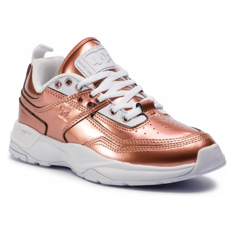 Sneakersy DC - E.Tribeka Se ADJS200015 Rose Gold (Rsg)