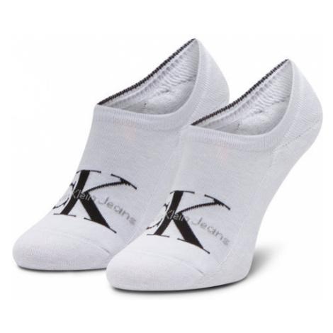 Calvin Klein Jeans Skarpety Stopki Męskie 100001869 Biały