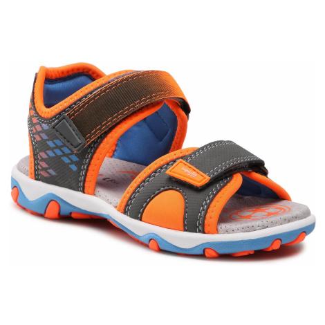 Sandały SUPERFIT - 1-609466-2000 S Grau/Orange