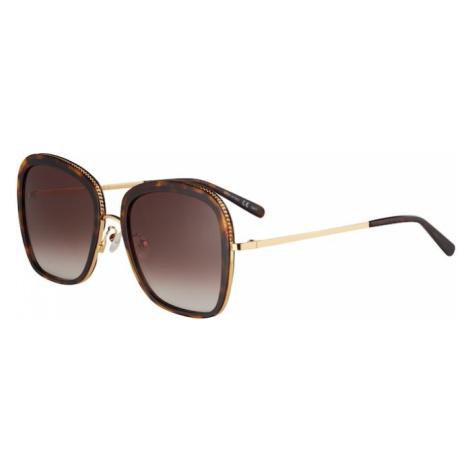Stella McCartney Okulary przeciwsłoneczne 'SC0206S-001 55' złoty / ciemnobrązowy