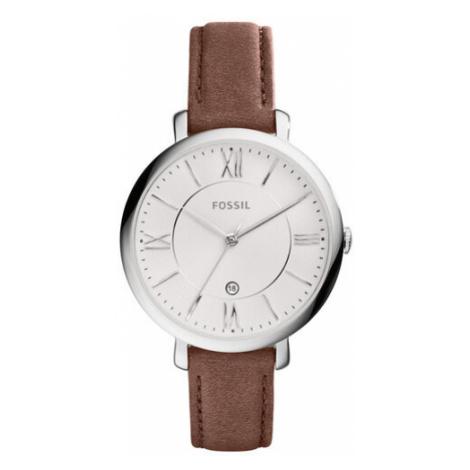 Fossil Zegarek Jacqueline ES3708 Brązowy