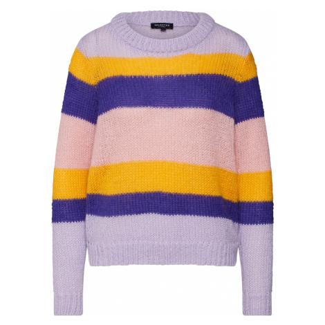 SELECTED FEMME Sweter żółty / liliowy / mieszane kolory