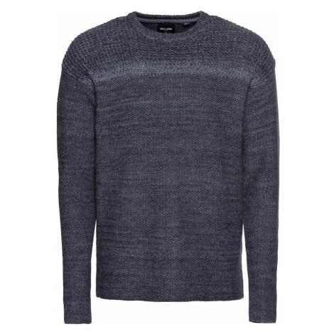 Only & Sons Sweter gołąbkowo niebieski
