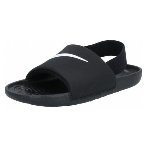 Nike Sportswear Buty otwarte 'KAWA' czarny / biały