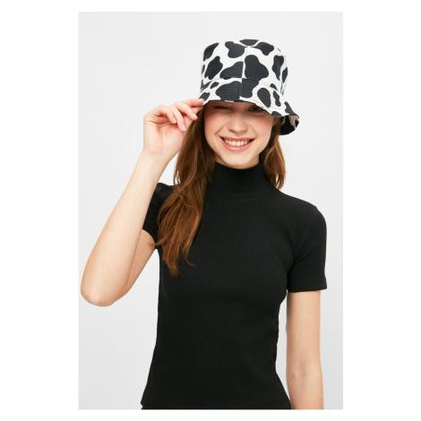 Trendyol Black Printed Bucket Hat