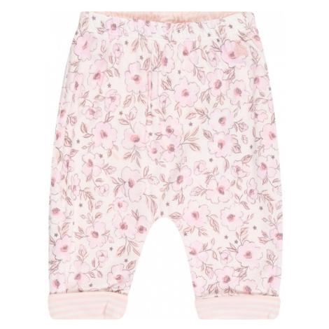 GAP Spodnie różowy pudrowy / jasnoróżowy / brązowy