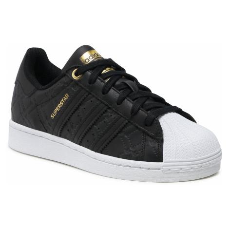 Buty adidas - Superstar W FX5962 Cblack/Goldmt/Ftwwht