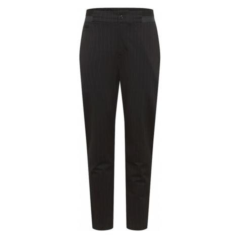Calvin Klein Jeans Spodnie 'GALFOS' czarny / biały