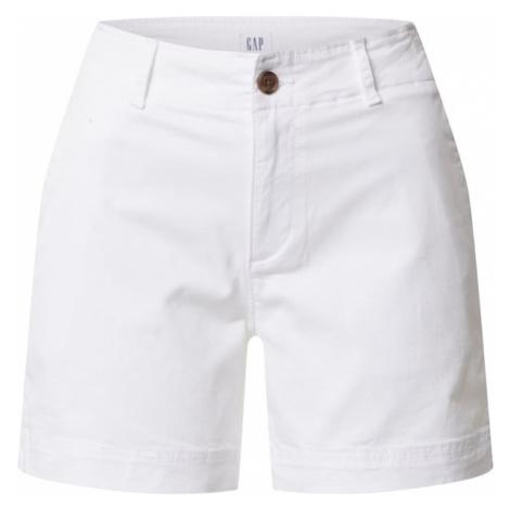 GAP Spodnie 'V-5 IN KHAKI SHORT' biały