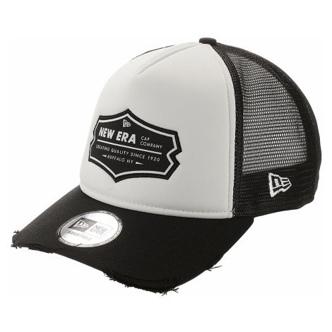 czapka z daszkiem New Era 9FO Aframe Patch Trucker - Black/White