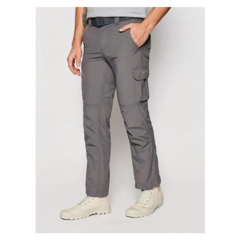 Columbia Spodnie outdoor Silver Ridge Cargo 1794901 Szary Regular Fit