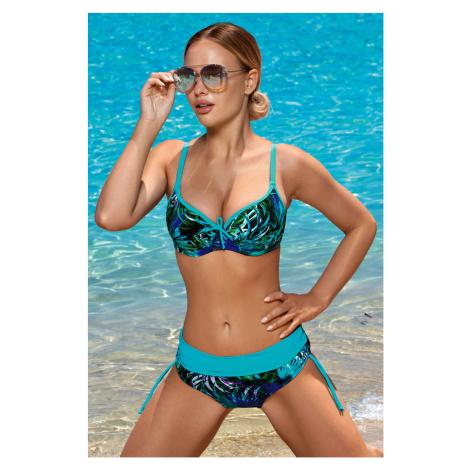 Górna część damskiego kostiumu kąpielowego Virginia Blue Aquarilla