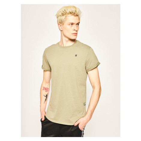 G-Star RAW T-Shirt Sustainable D16396-B353-2199 Zielony Relaxed Fit