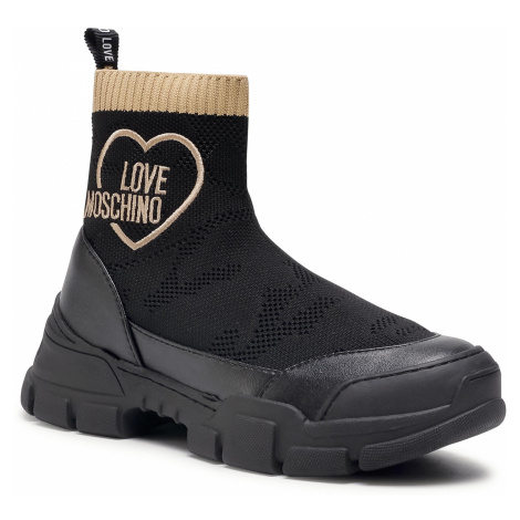Sneakersy LOVE MOSCHINO - JA15624G0BJ44000 Nero