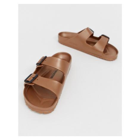 Birkenstock Arizona EVA sandals in metallic copper