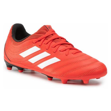 Buty adidas - Copa 20.3 Fg J EF1914 Actred/Ftwwht/Cblack
