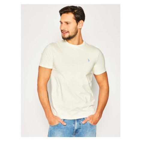 Polo Ralph Lauren T-Shirt Classics 710671438 Beżowy Custom Slim Fit
