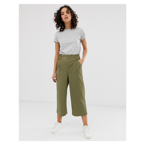 Only cropped wide leg trouser