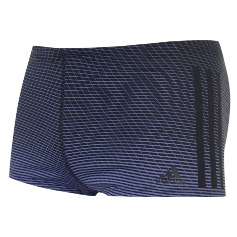 Adidas 3 Stripes Graphic Swim Boxers Mens
