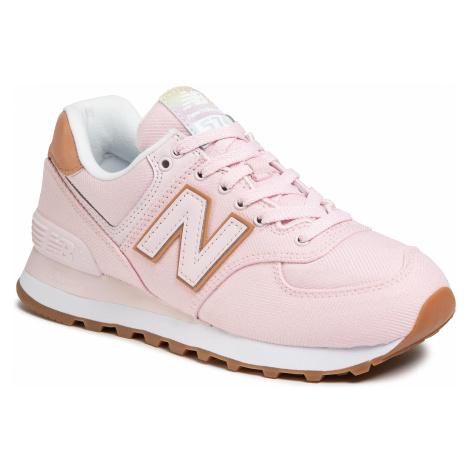 Sneakersy NEW BALANCE - WL574SCA Różowy